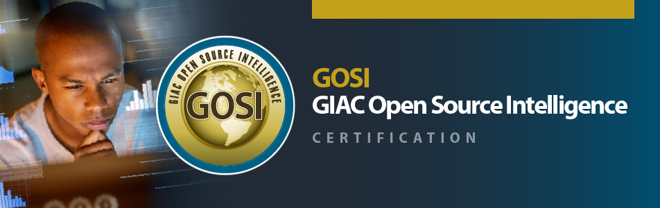 GOSI GIAC Open Source Intelligence